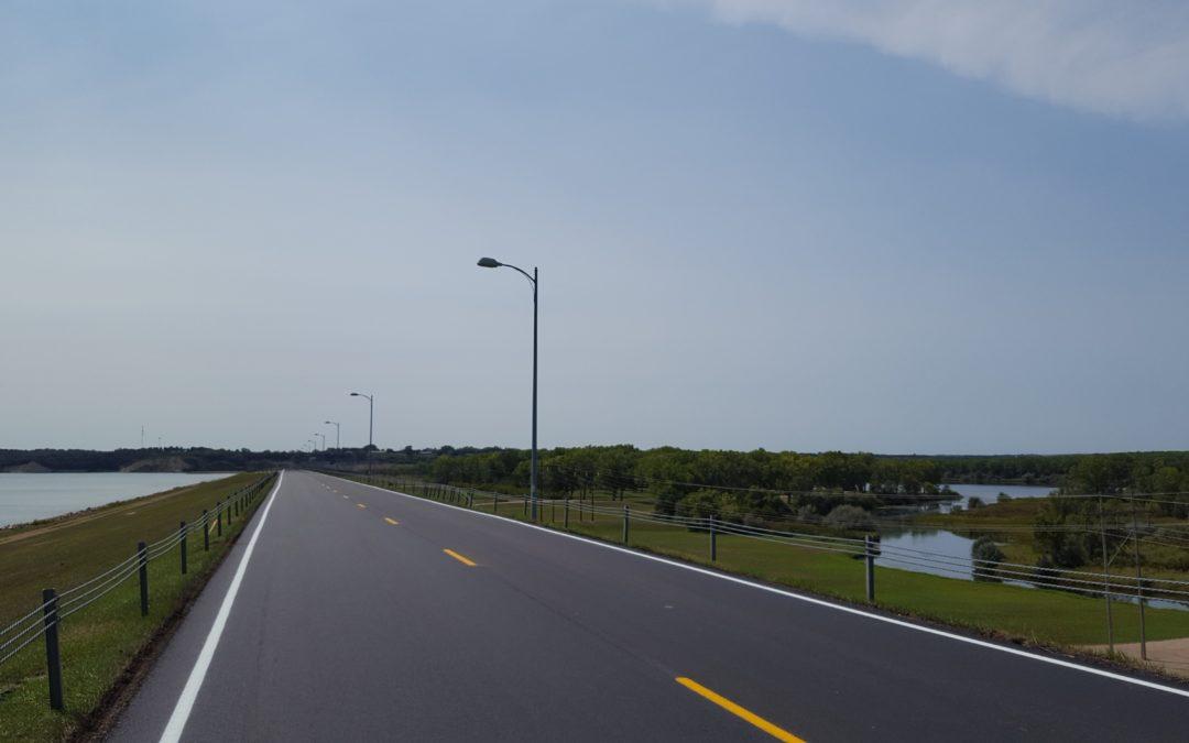 Gavin's Point Dam Crest Road Reconstruction